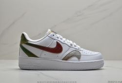 公司级Nike Air Force 1 Low 5D 炫彩勾莆田鞋
