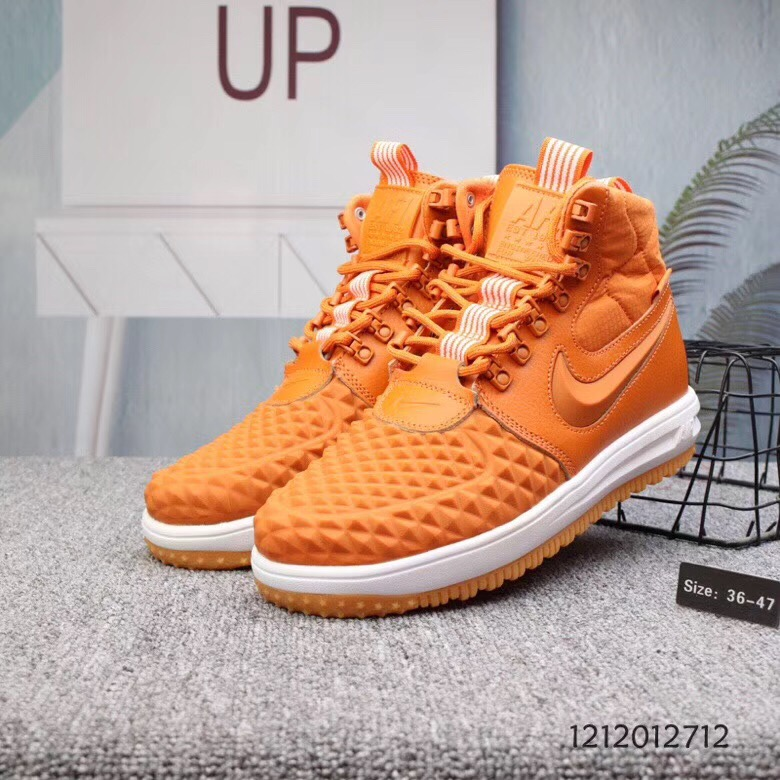 160¥Nike 耐克 Lunar Force 1 duckboot 男子运动高仿鞋