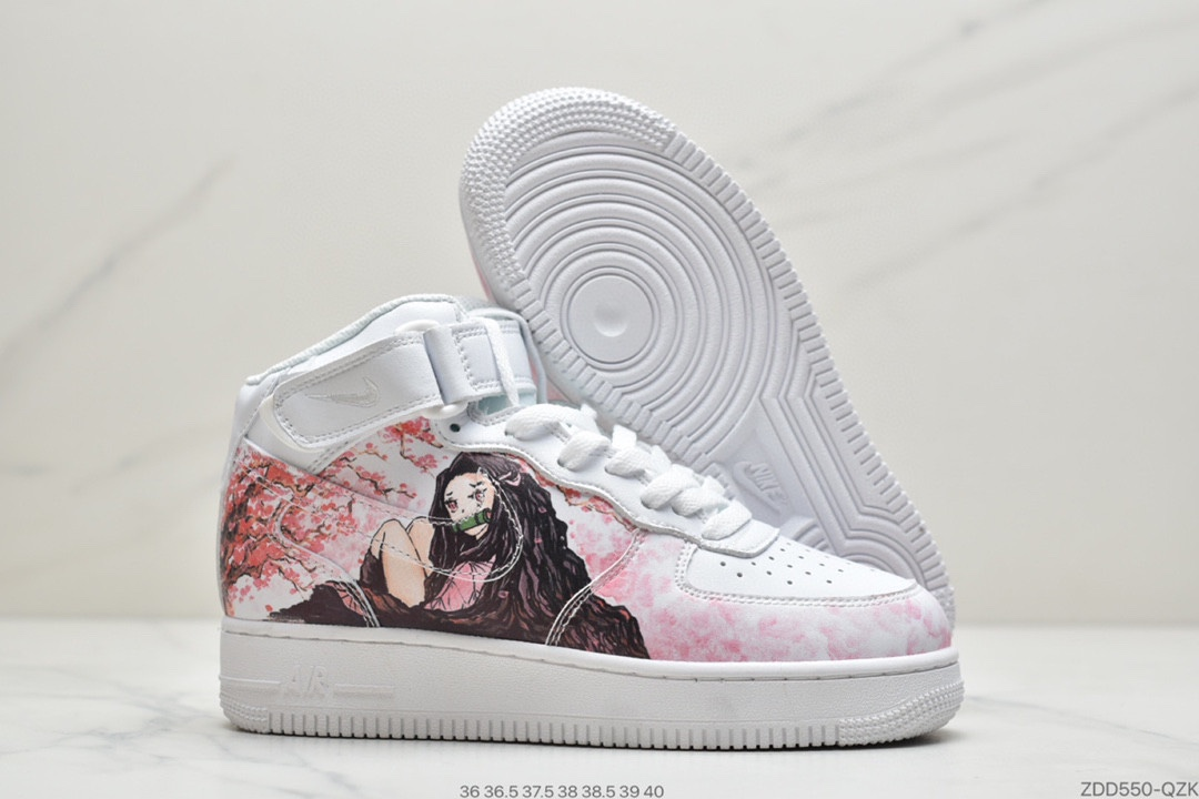 公司级耐克NIKE W AIR FORCE 1HIGH 07 LV8 2 全新配色莆田鞋